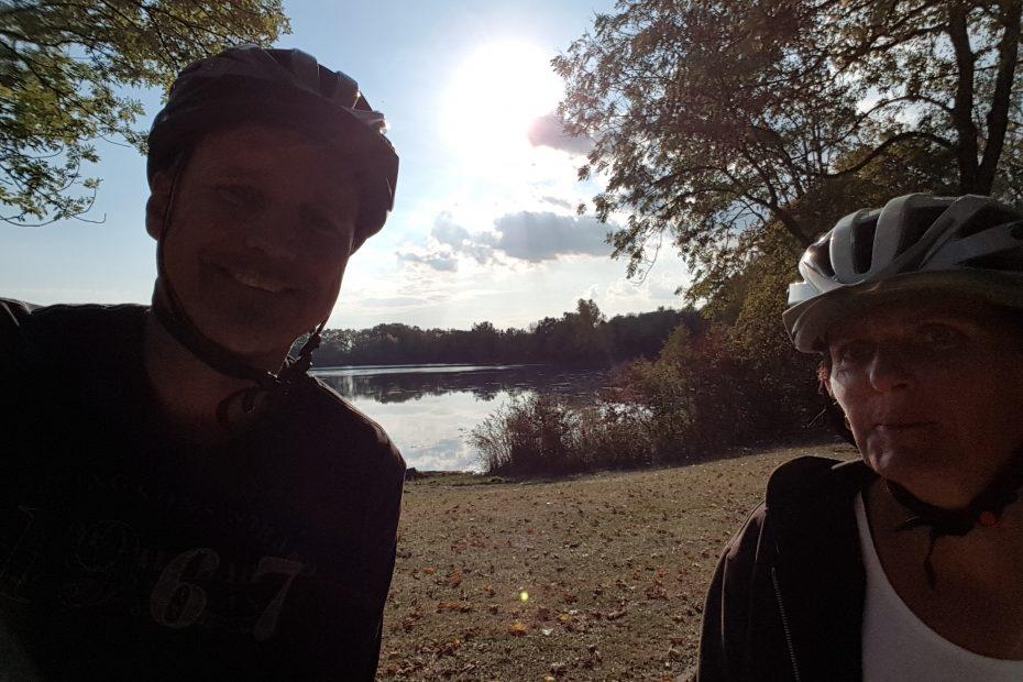 Segway Tour Ulm Naturtour. Fahrt mit dem Segway ins Grüne mit Blick auf Pfuhler See