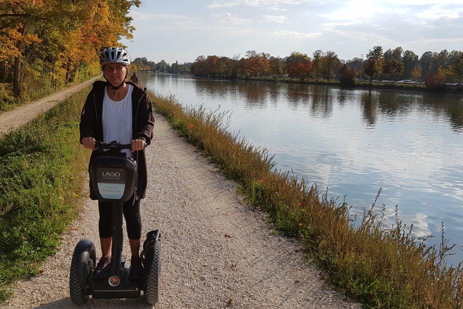 Segway Tour Ulm entlang der Donau. Segway Tour Ulm ins Grüne. Richtung Thalfingen und Pfuhler See