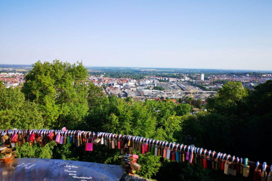 Wunderschöner Ausblick auf der Segway Panorama Tour Ulm. Spannung und Spaß und Kulturelles Erlebnis bis zur Willhelmsburg Ulm
