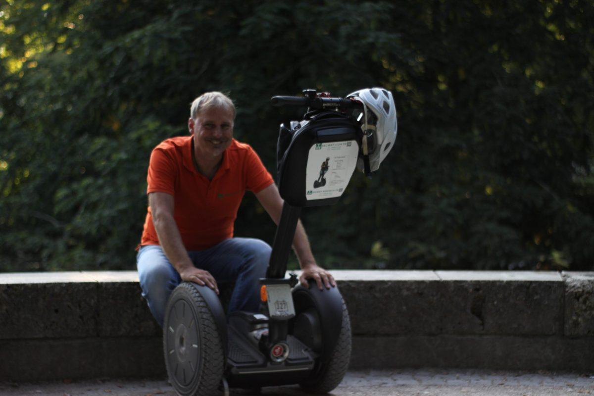 Segway Guide Ulm Mit dem Segway durch Ulm Segway fahren Ulm Stadtführung Event Coole Tour