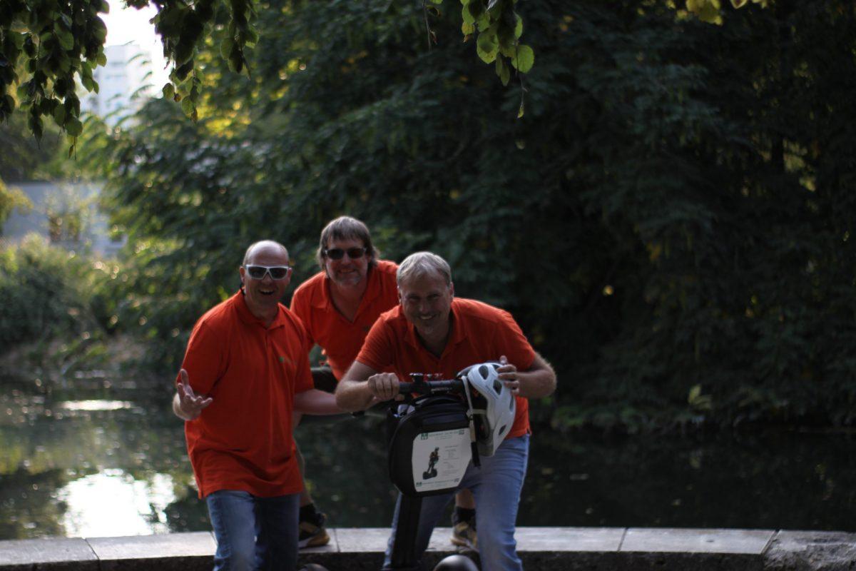 Spaß auf dem Segway Segway Guides Ulm Coole Touren Sight Seeing Ulm Stadttouren