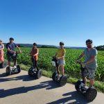 Mit dem Segway auf den Jordanberg, Segway Tour in und um Biberach an der Riß, Touristen auf dem Segway, Segwayspaß