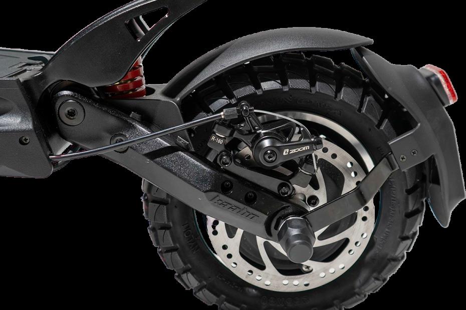 Der IO HAWK Legend verfügt über einen starken Antrieb. Scheibenbremsen sorgen für noch mehr Fahrsicherheit